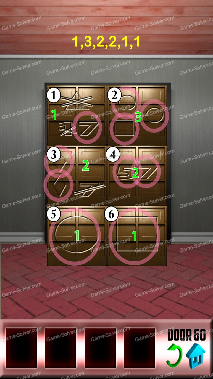 100 doors level 60 game solver for 100 doors door 60