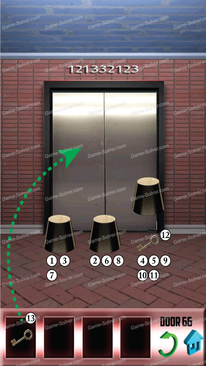 100 Floors Level 66 Walkthrough Home Plan