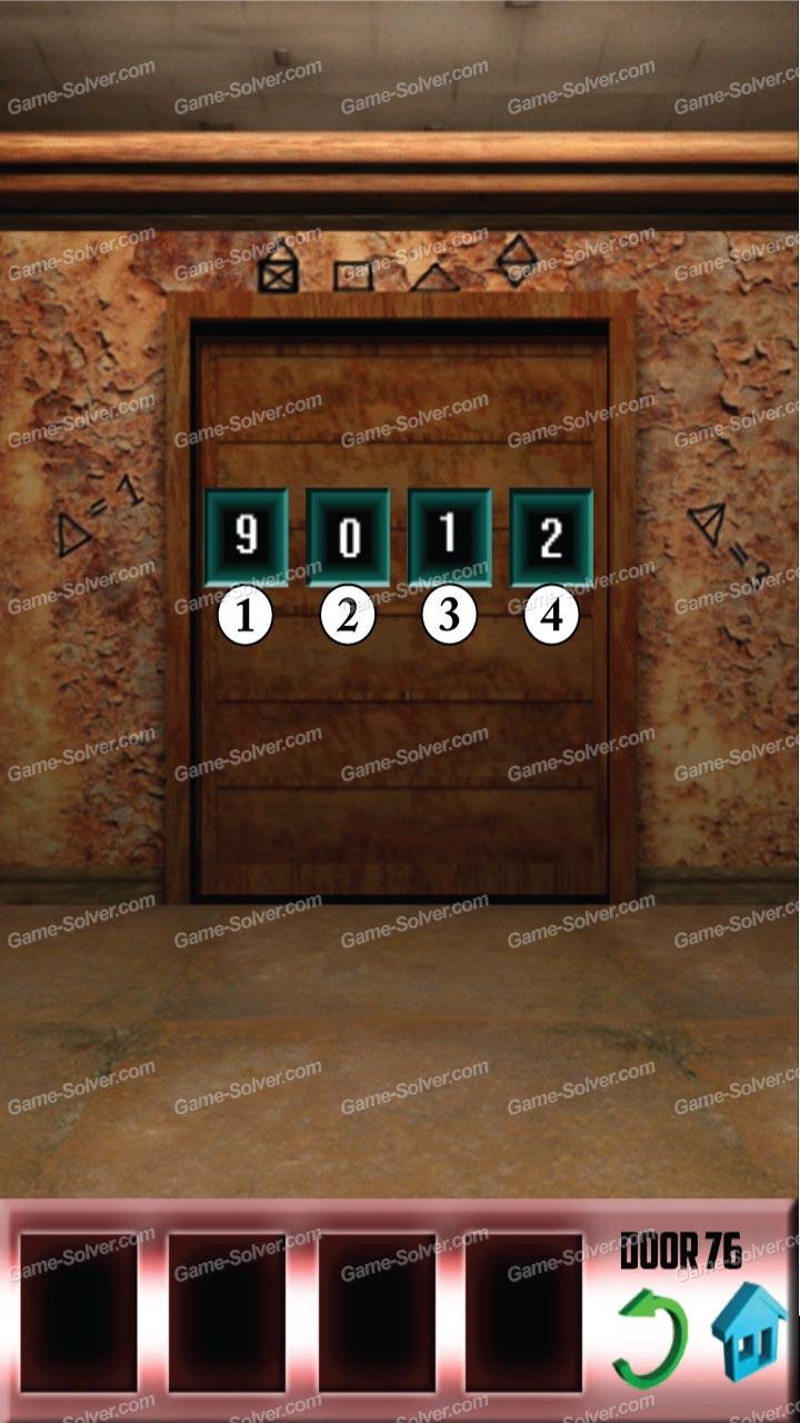 100 Doors 2013 Level 1 2 3 4 5 6 7 8 9 10 Walkthrough