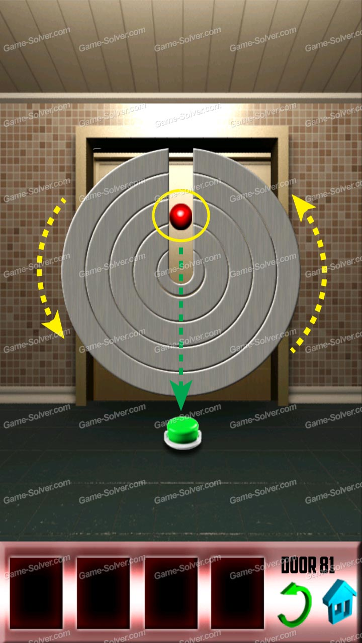 100 doors level 81 game solver for Door 4 level 21
