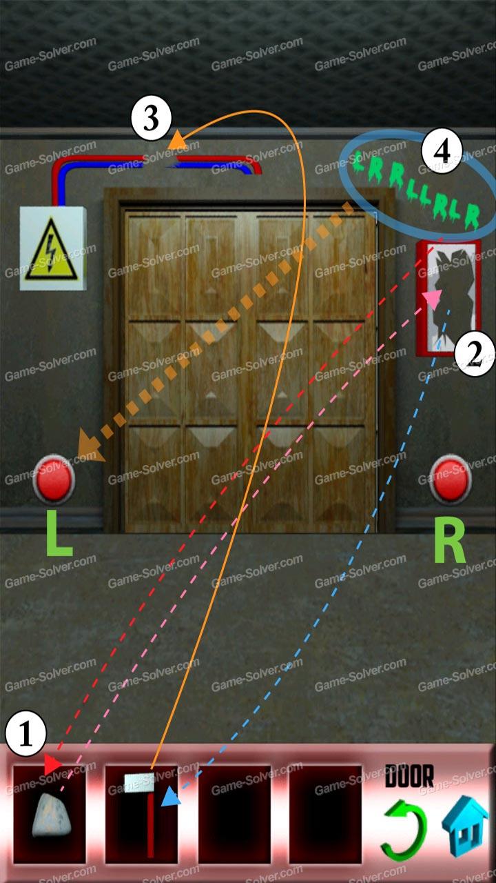100 doors x level 10 game solver for 100 door x