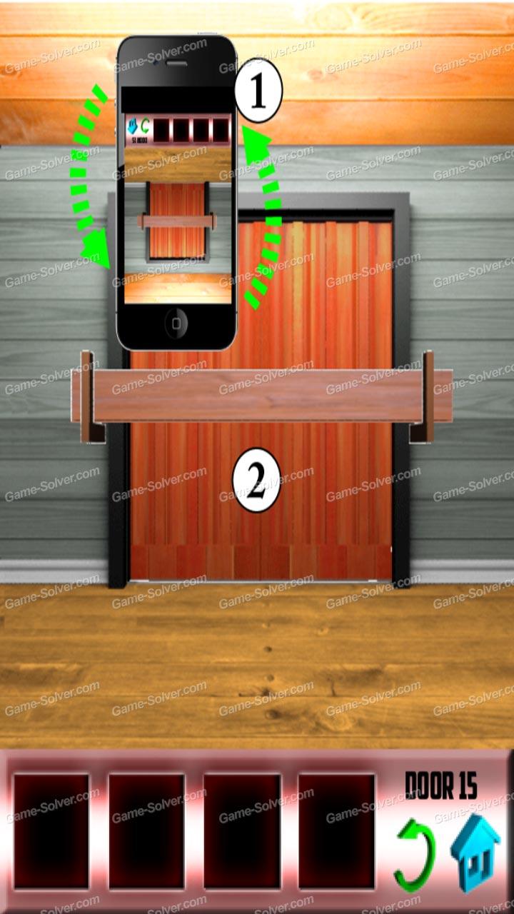 100 doors x level 15 game solver for 100 door x