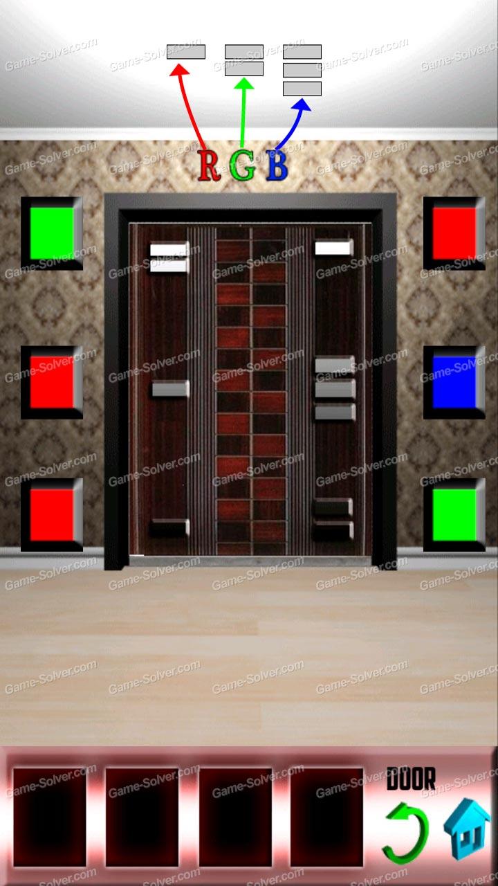 100 doors x level 17 game solver
