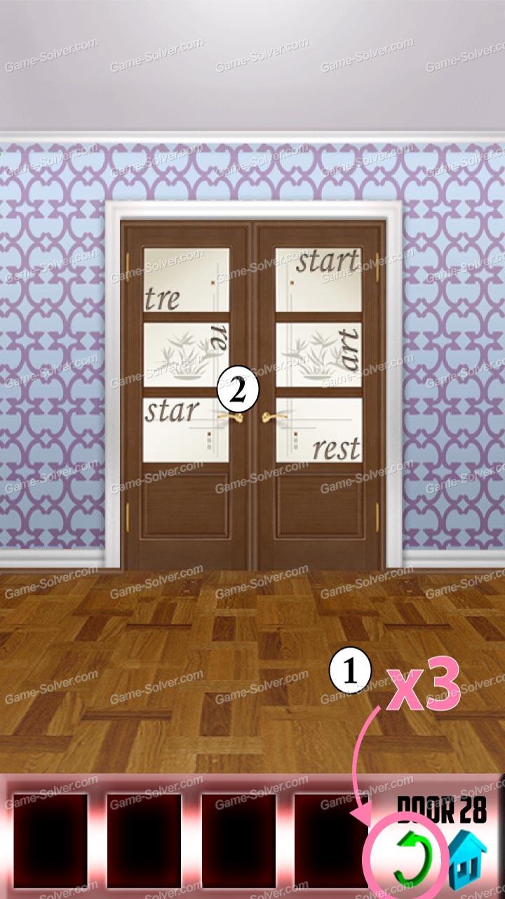 100 doors x level 27 game solver for 100 door x