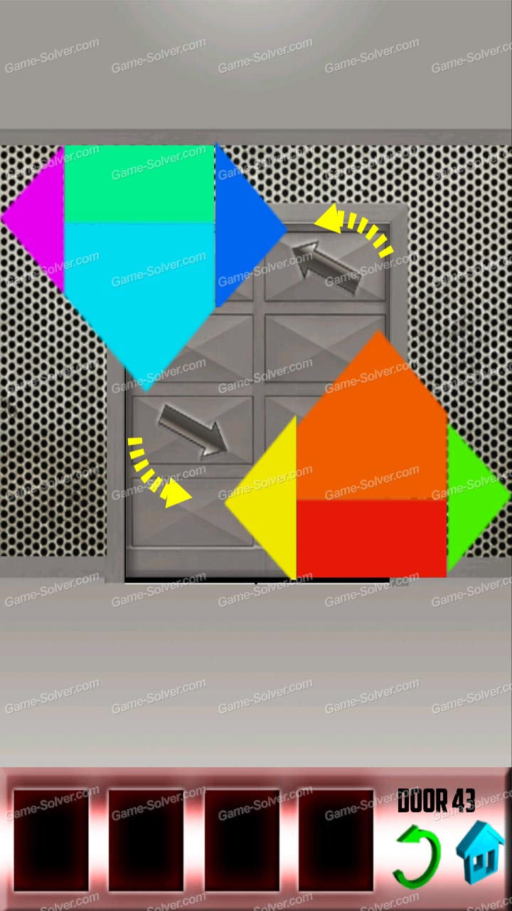 100 doors x level 42 game solver for 100 door x