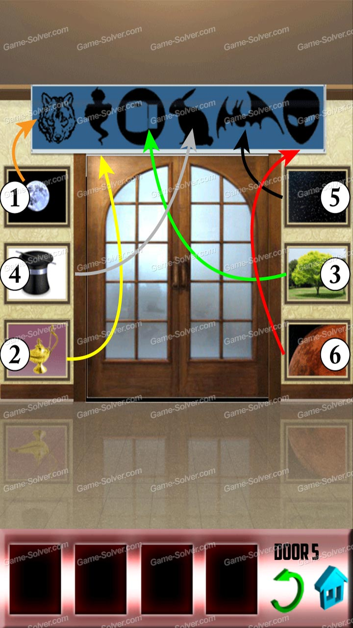 100 doors x level 49 game solver for 100 doors floor 49
