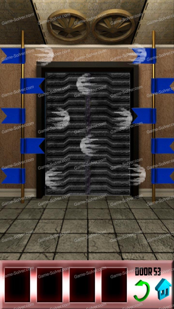 100 doors x level 52 game solver for 100 door x