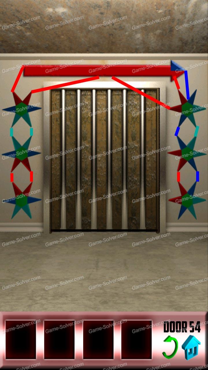 100 doors x level 53 game solver for 100 door x