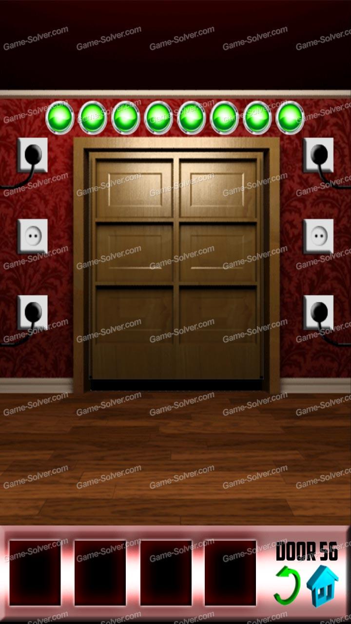 100 doors x level 55 game solver for 100 door x