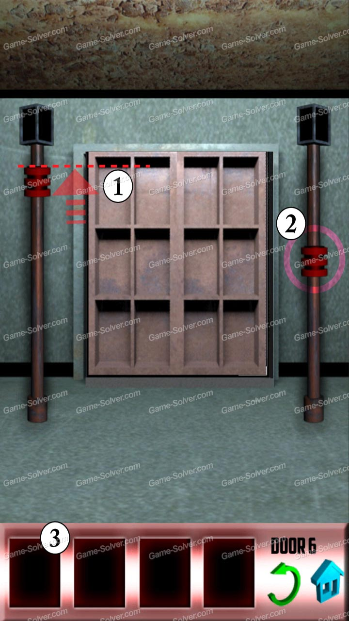 100 doors x level 6 game solver for Door 4 level 21