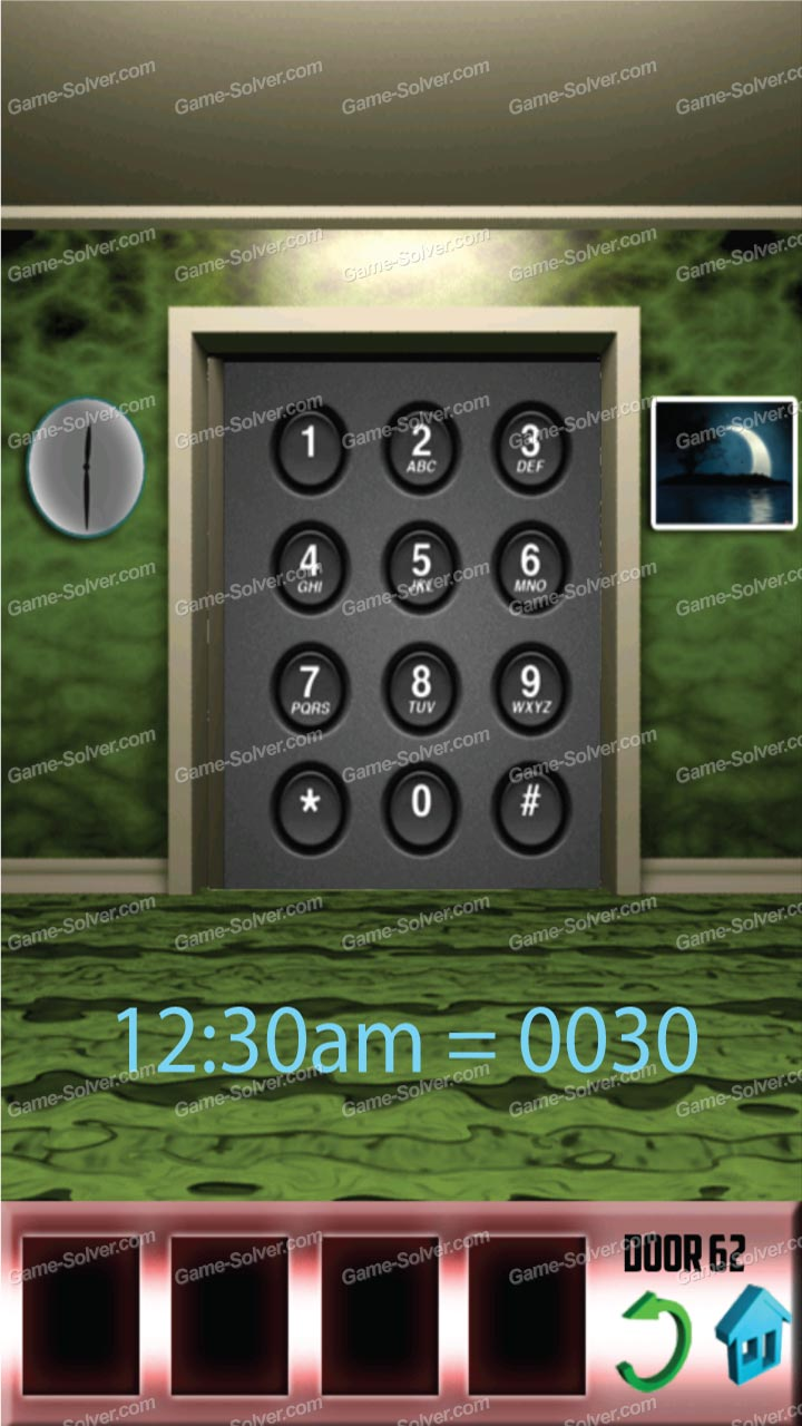 100 doors x level 61 game solver for 100 door x