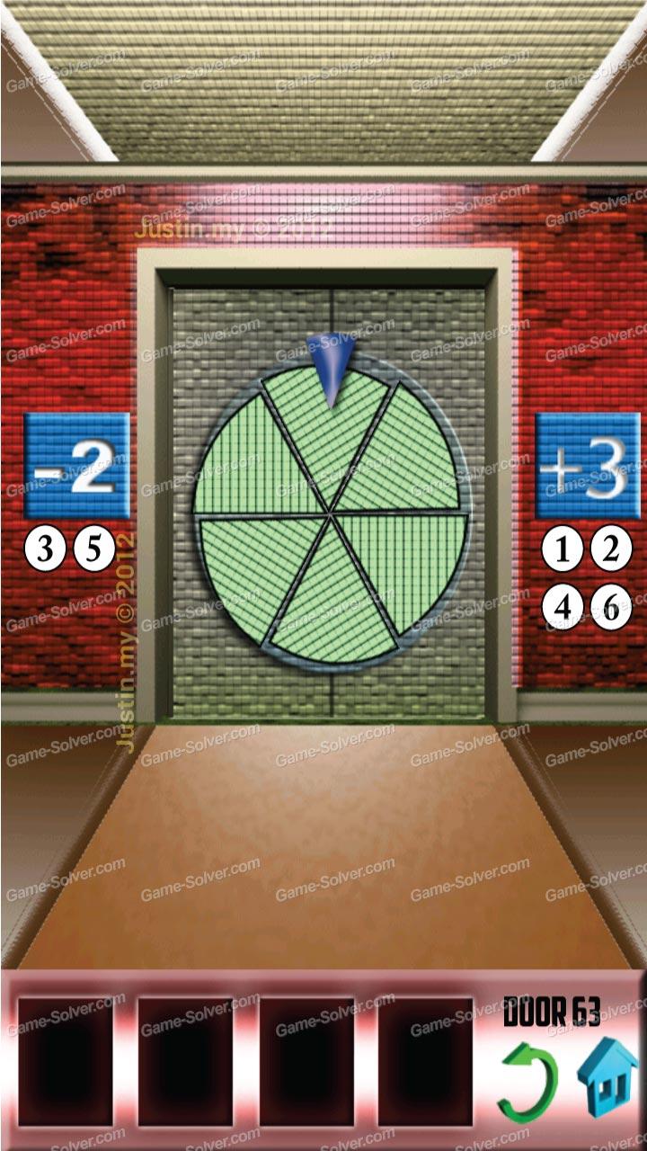 100 doors x level 62 game solver for 100 doors door 62