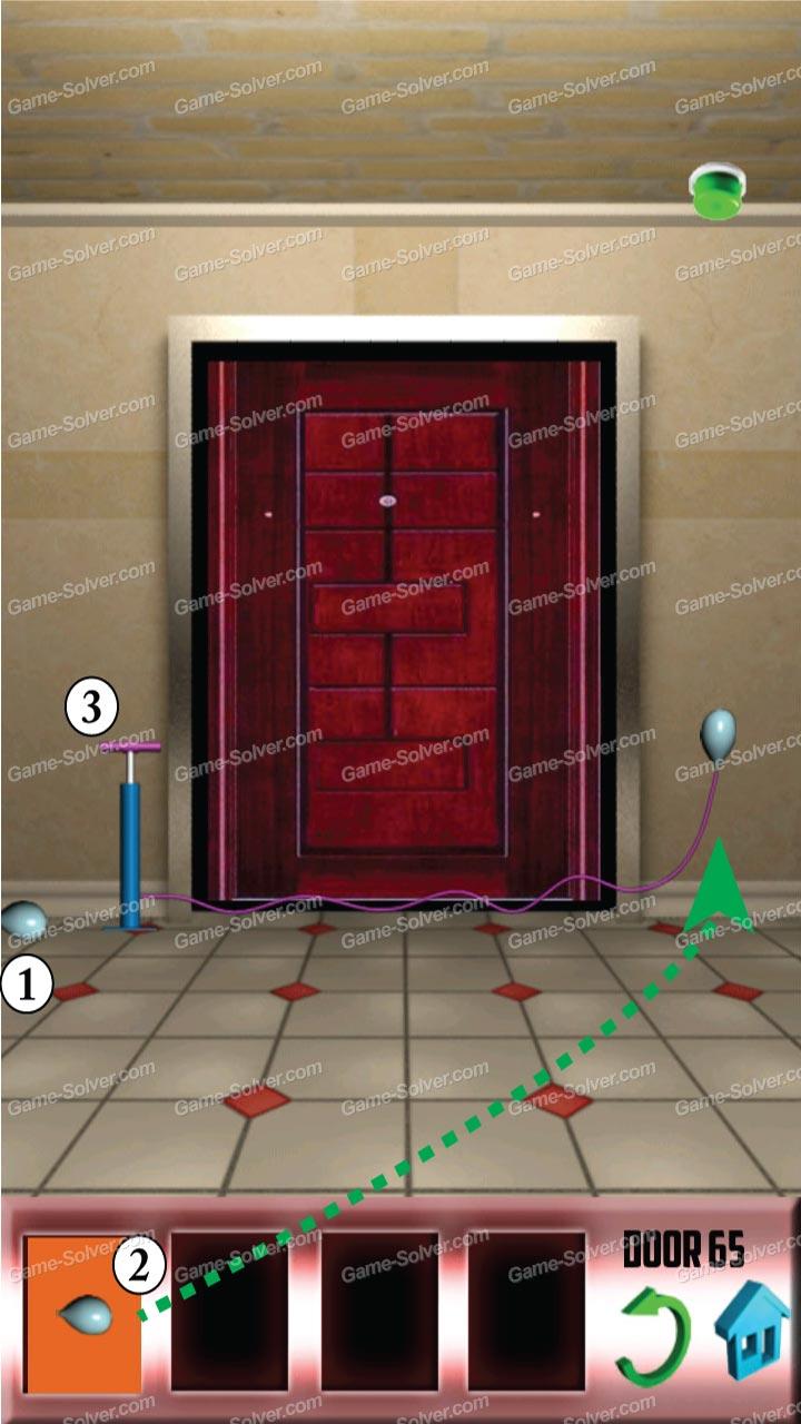 100 doors x level 64 game solver for 100 door x