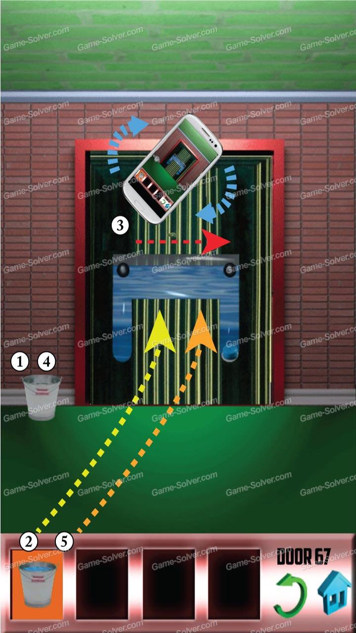100 doors x level 66 game solver for 100 door x