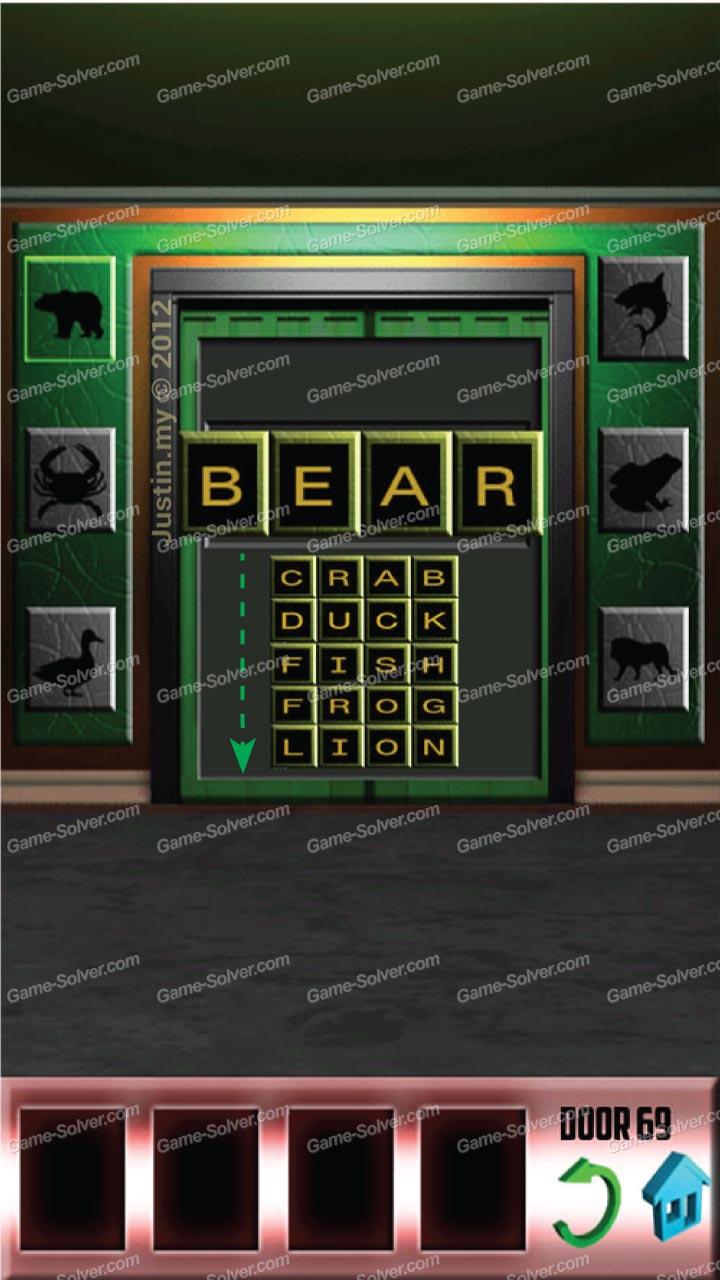 100 Doors X Level 68 & 100 Doors X Level 68 - Game Solver
