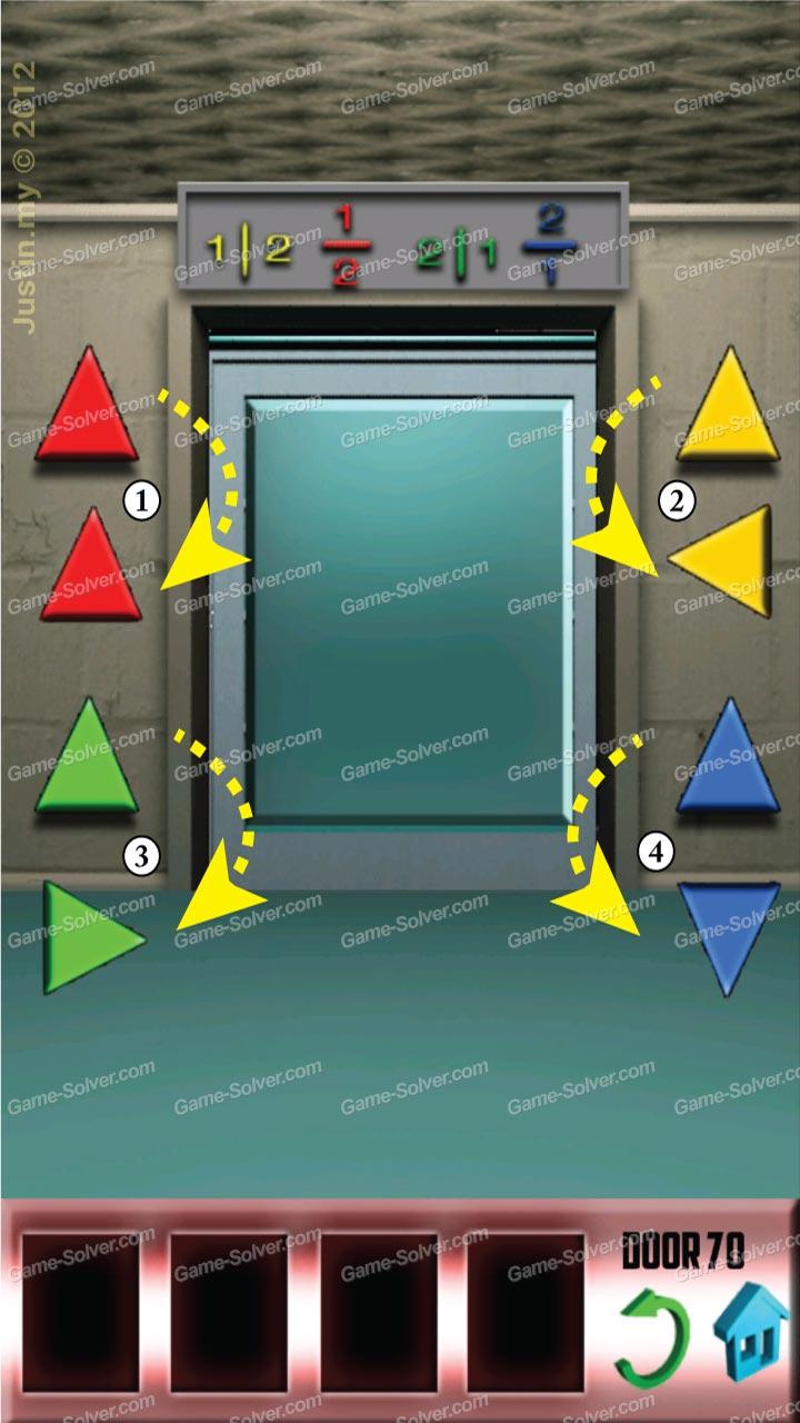 100 doors x level 69 game solver for 100 door x