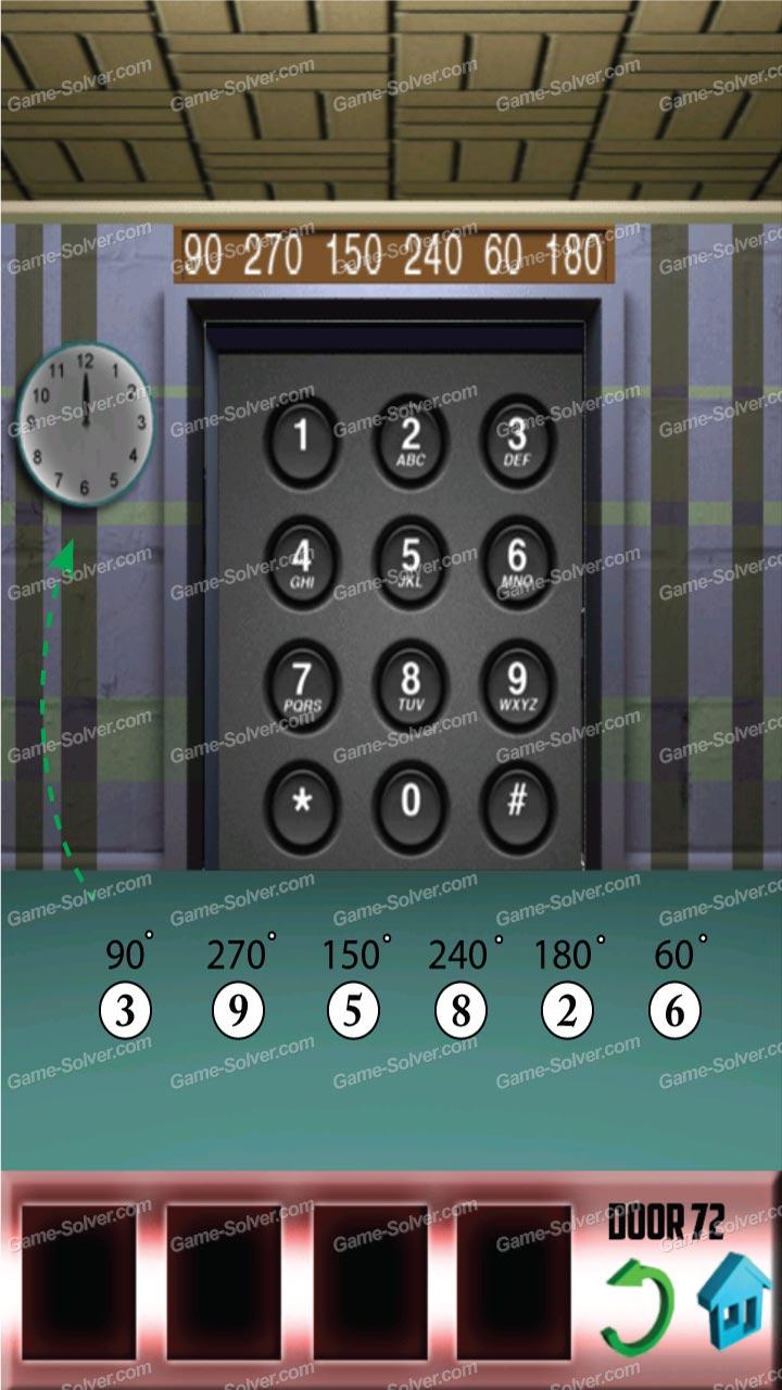 100 doors x level 71 game solver for 100 door x