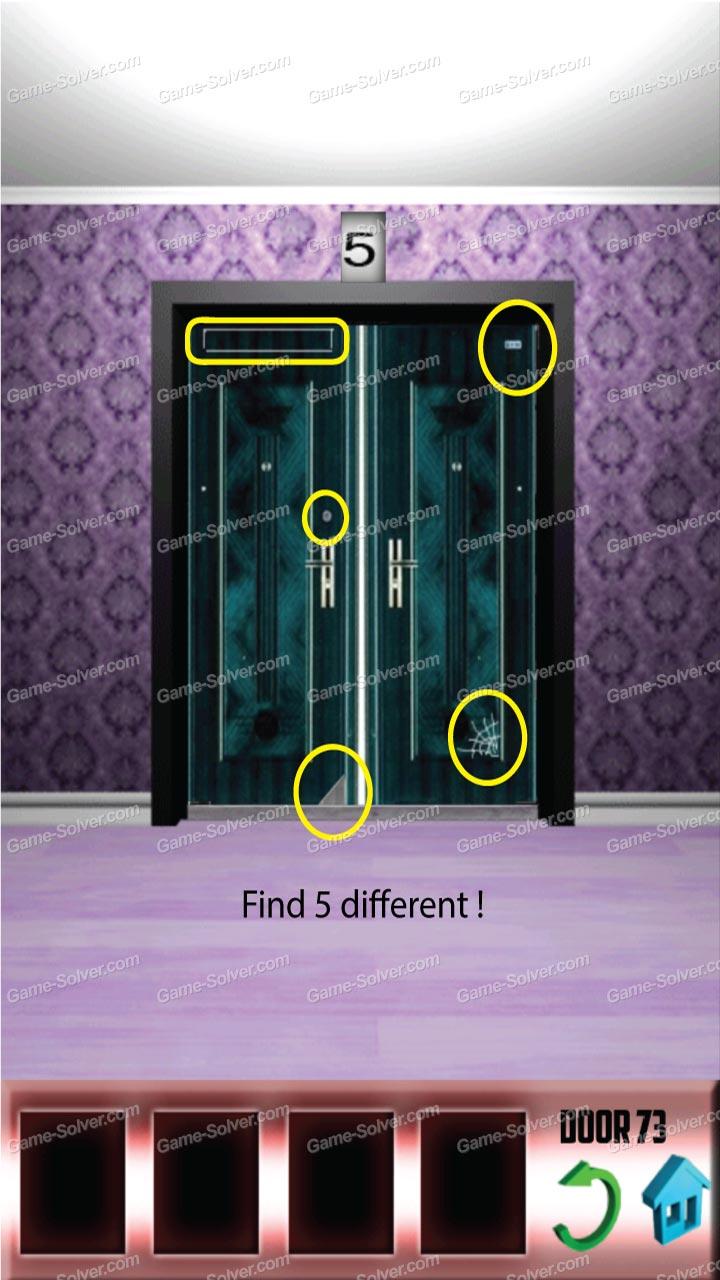 100 doors x level 72 game solver for 100 door x