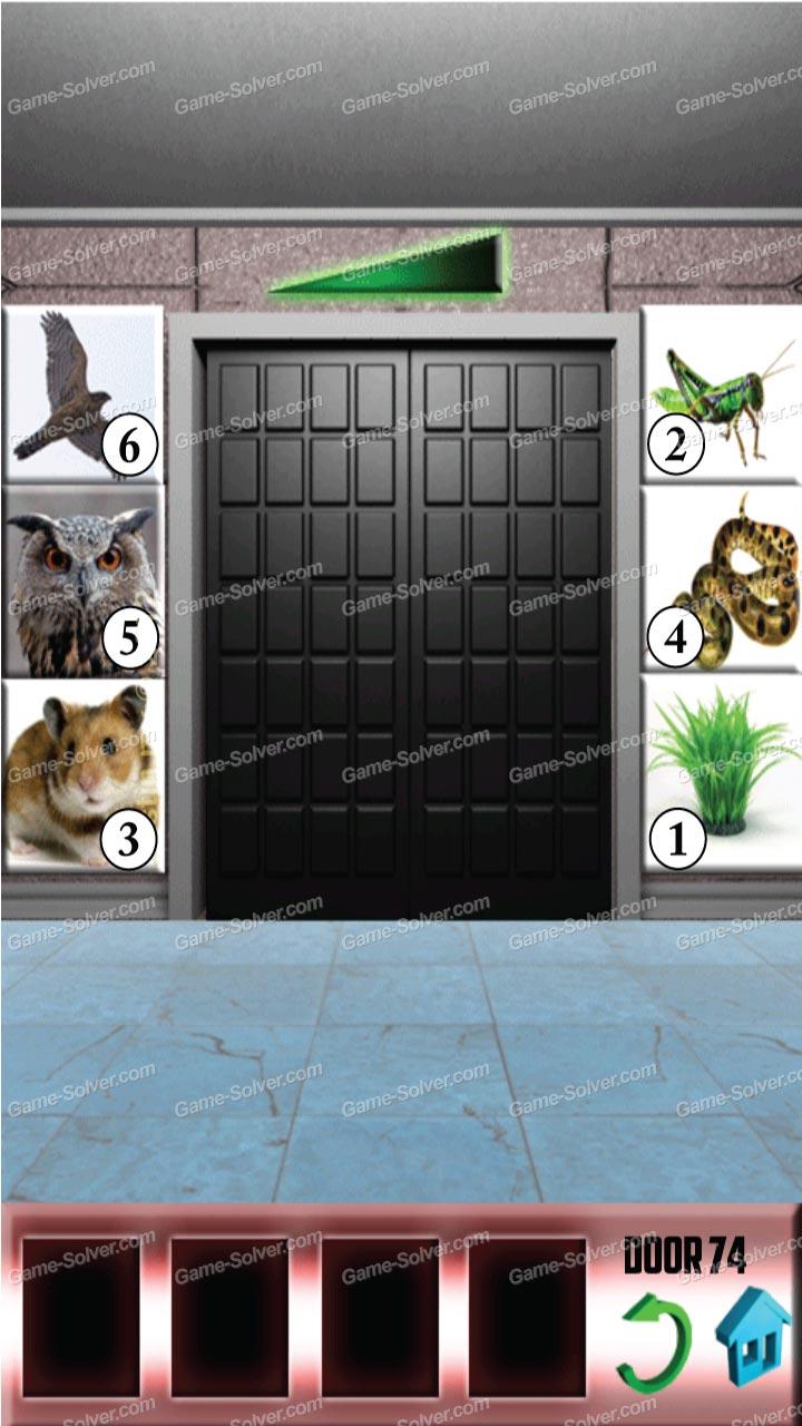 100 doors x level 73 game solver for 100 door x