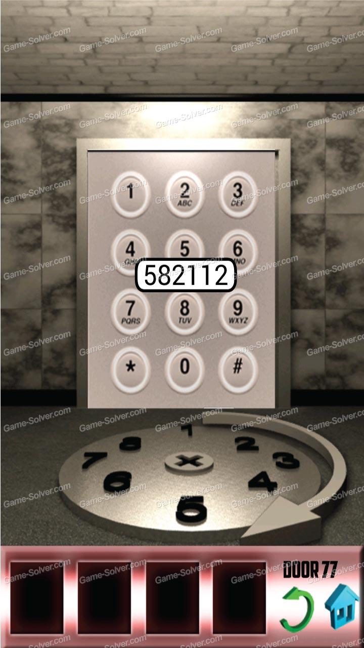 100 doors x level 76 game solver for 100 door x