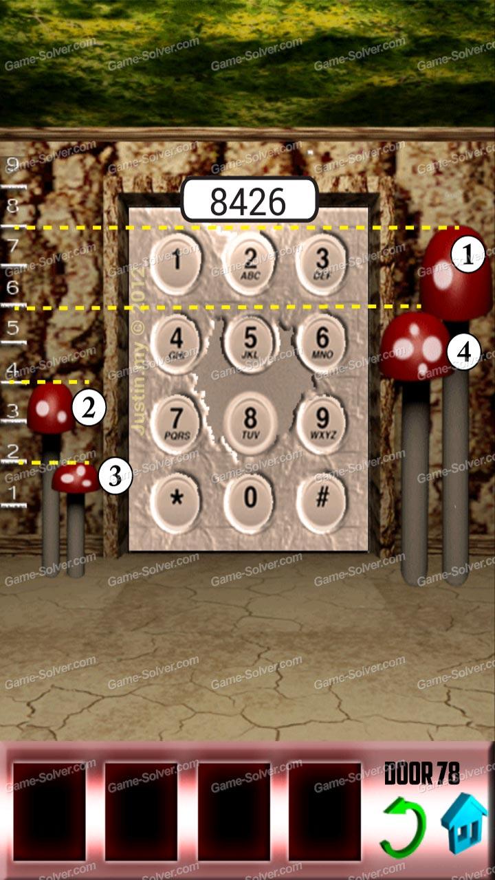 100 doors x level 77 game solver for 100 door x