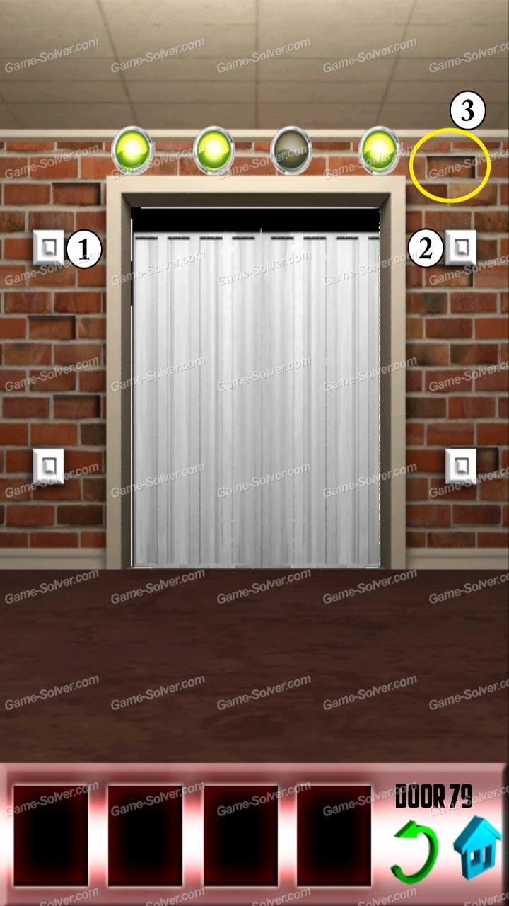 100 doors x level 78 game solver for 100 door x