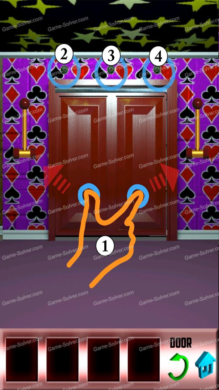 100 doors x level 8 game solver for 100 door x