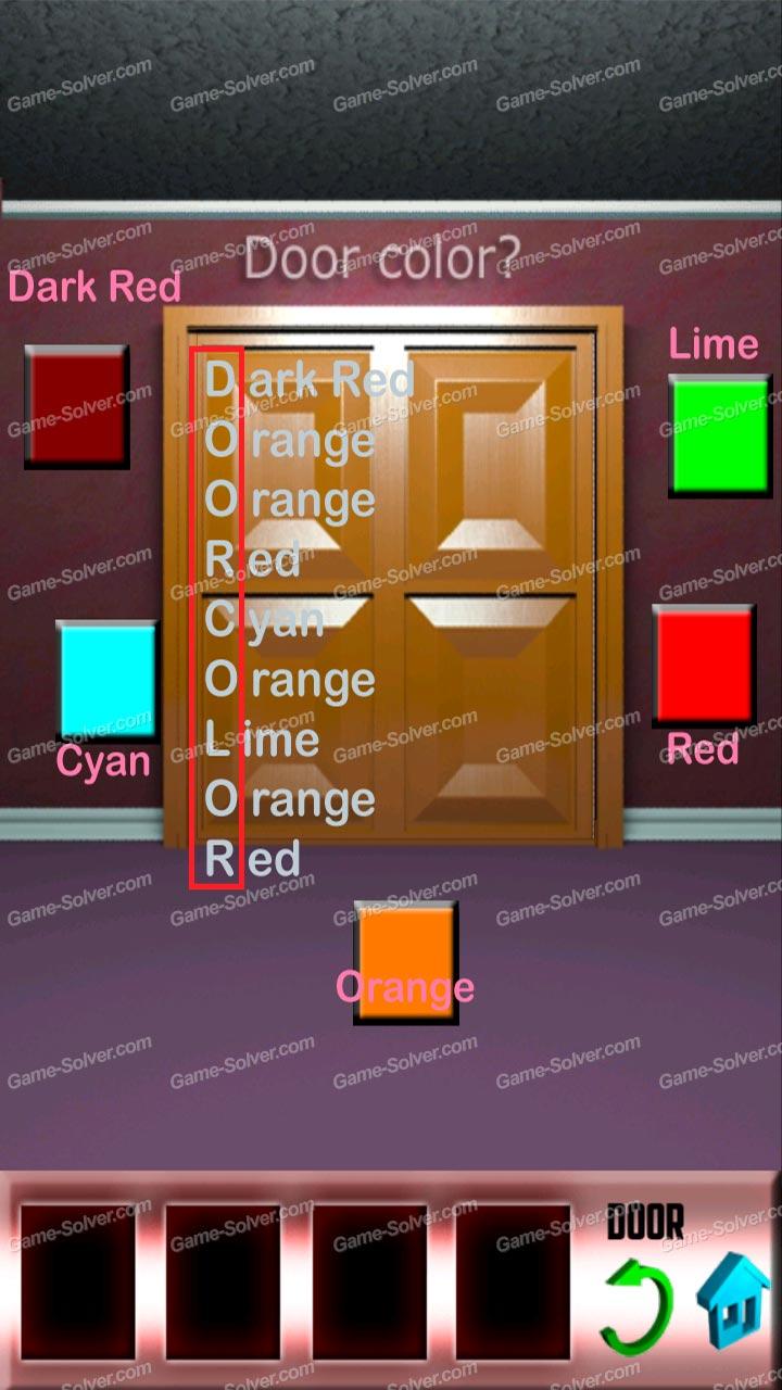 100 Doors X Level 9 Game Solver