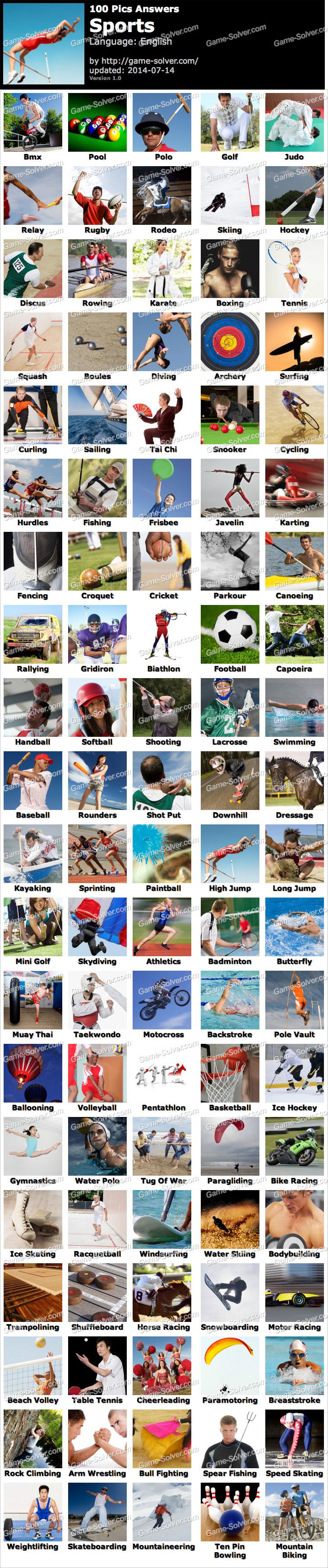100 Pics Sports