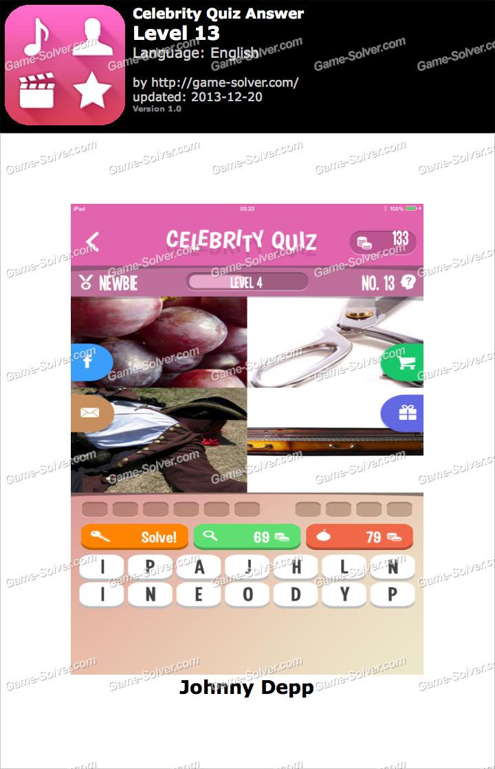 Celebrity cartoon quiz level 13