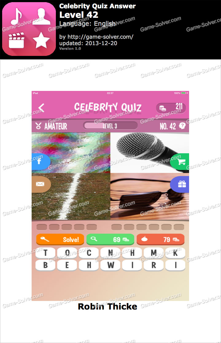 Guess The Celebrity Logo Quiz Pack 4 Level 49 - Game Solver