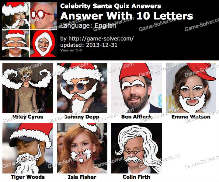 Celebrity quiz level 31