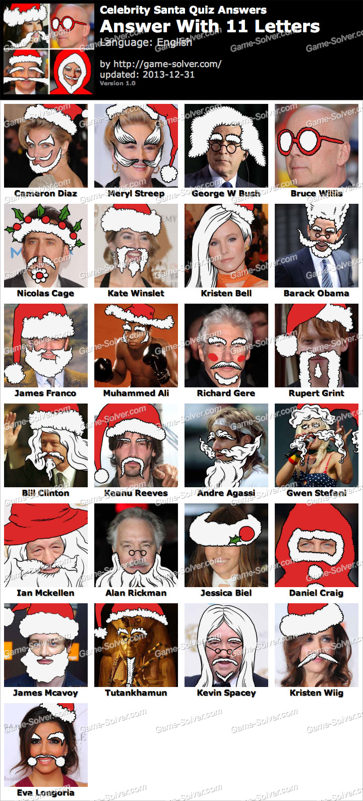 Celebs dressed as Santa Claus | Gallery | Wonderwall.com