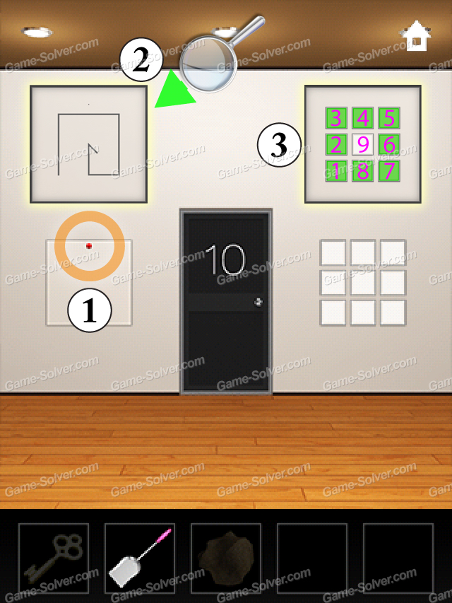 Dooors 3 Level 10 & Dooors 3 Level 10 - Game Solver