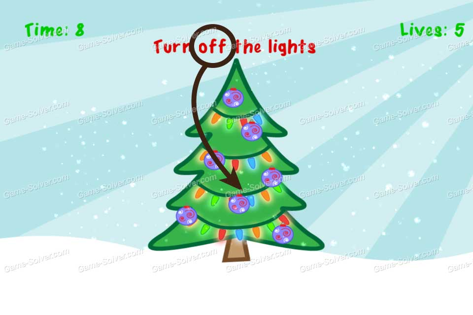 Impossible Test Christmas Turn Off The Lights