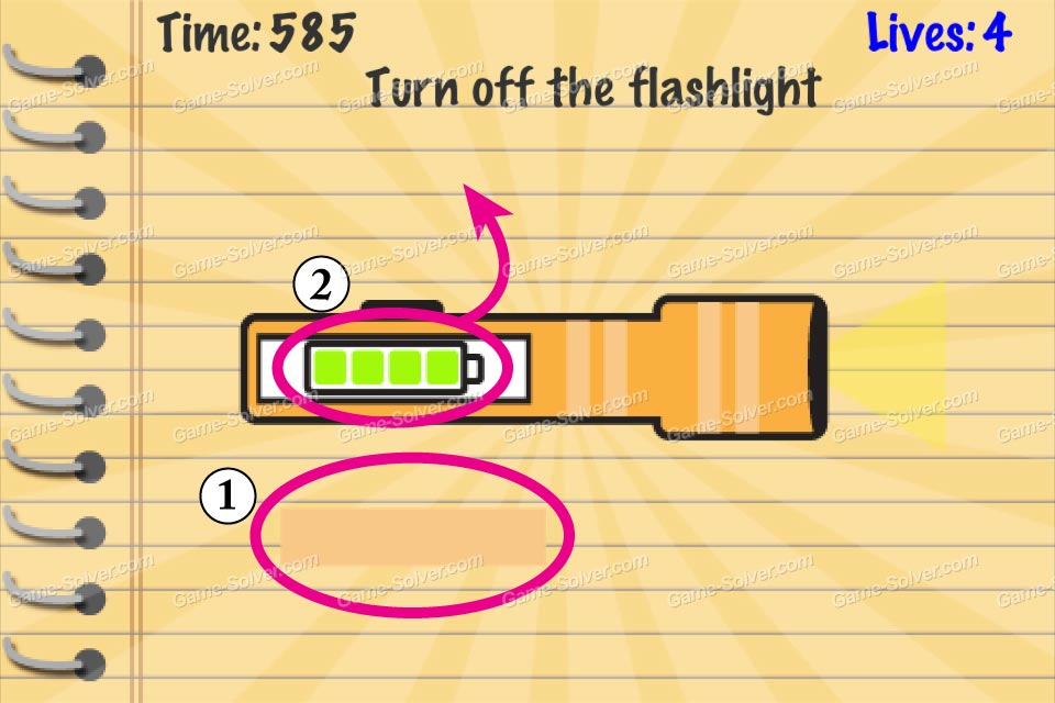 Impossible Test Turn Off The Flashlight