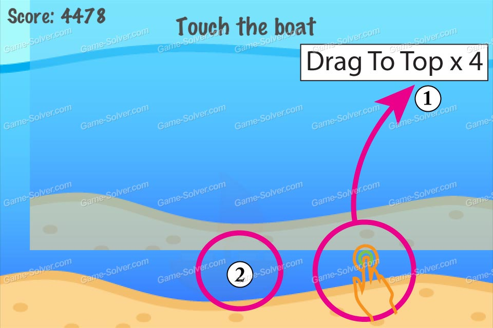 Impossible Test Water Touch The Boat