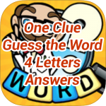 One Clue Answers 4 Letters