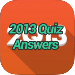 2013 Quiz Answers