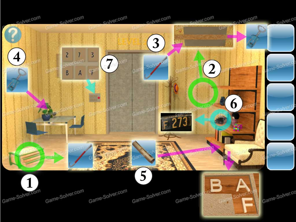 Can You Escape 2 Level 2 Game Solver