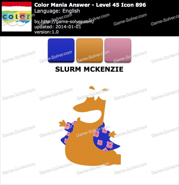 Colormania Level 45 Icon 896 SLURM MCKENZIE