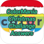 Colormania Christmas Challenge Answers