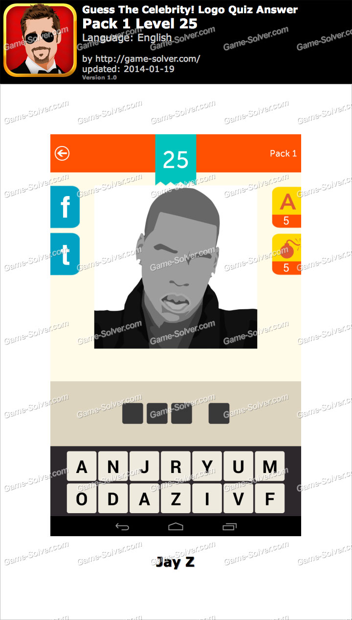 Guess The Celebrity Logo Quiz Answers Guess The Celebrity Logo Quiz