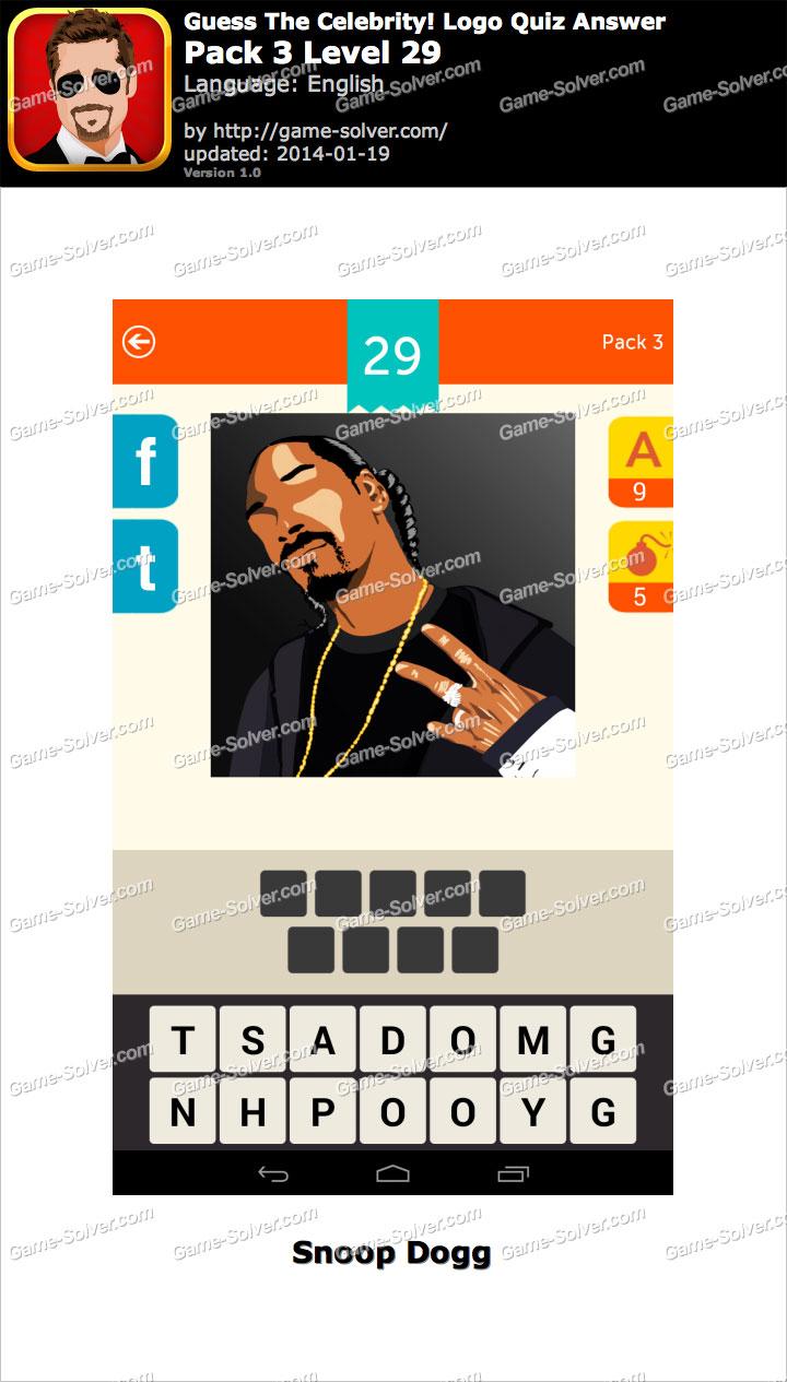 Celebrity Quiz Level 29 - Game Solver