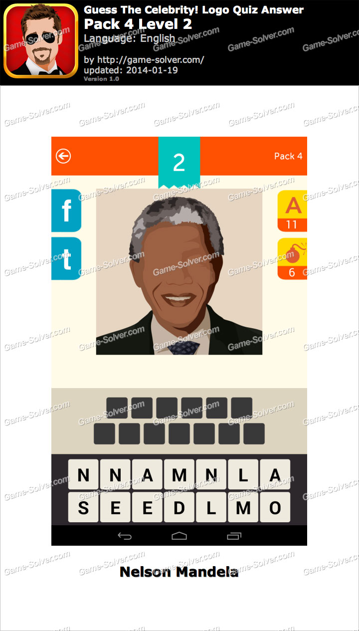 Guess The Celebrity Logo Quiz Pack 4 Level 2