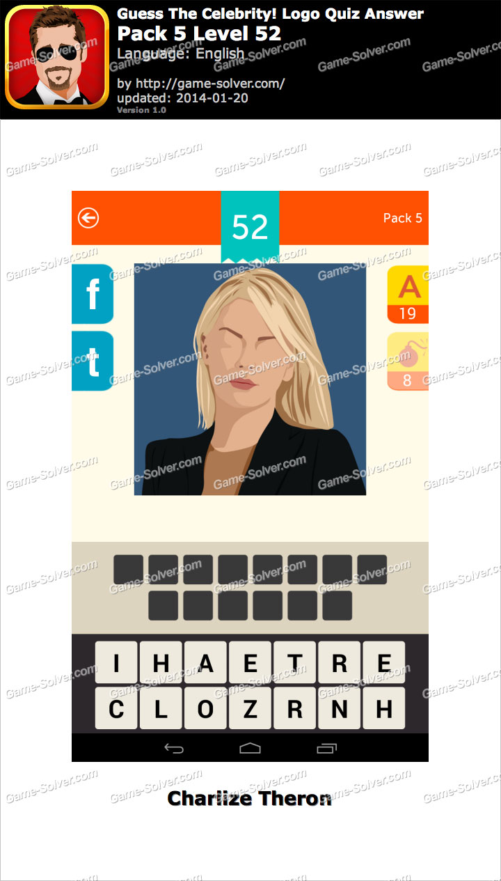 Celebrity Quiz – Guess the Star! – Level Pack 3 Answers ...