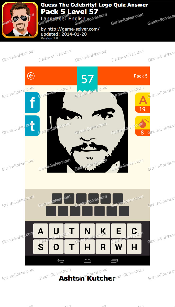 Celebrity guess level 57 answer