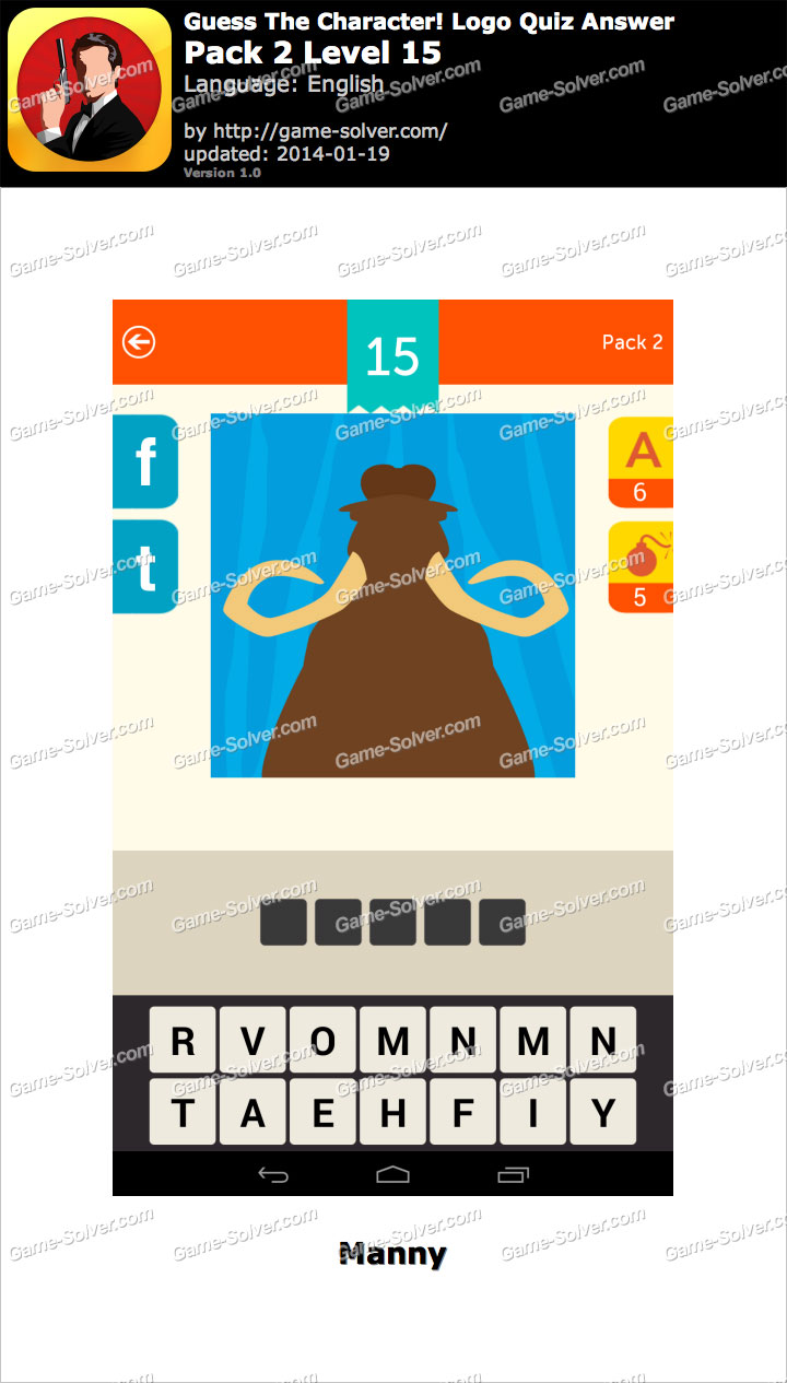 guess the character logo quiz pack 2 level 15 game solver