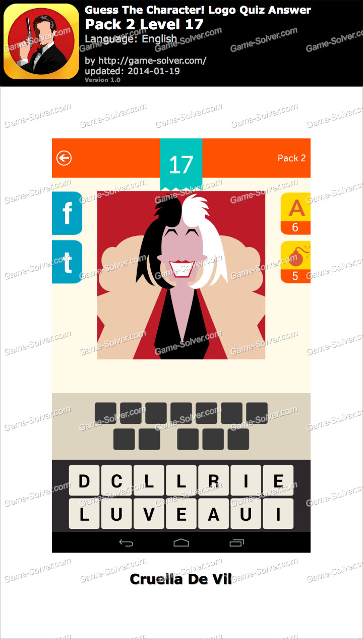 guess the character logo quiz pack 2 level 17 game solver
