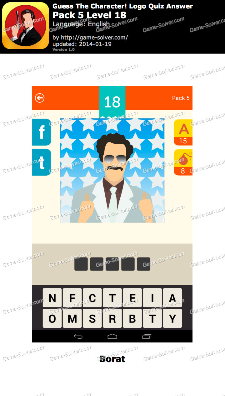 guess the character logo quiz pack 5 level 18 game solver